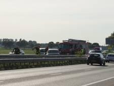 Vertraging na ongeluk op A59 bij Sprang-Capelle opgelost