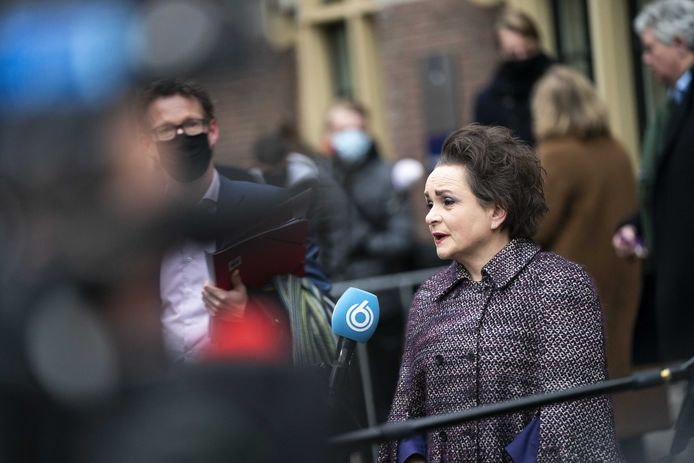 Staatssecretaris Alexandra van Huffelen (D66) van Financien op 15 januari.