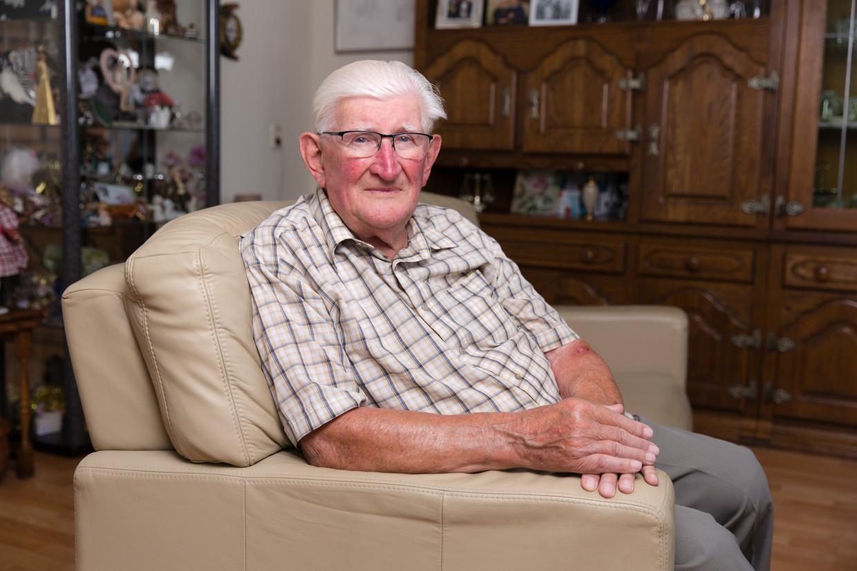 De 89-jarige Bér Schroen verwelkomde op 14-jarige leeftijd als een van de eerste Nederlanders de geallieerden in Zuid-Limburg.