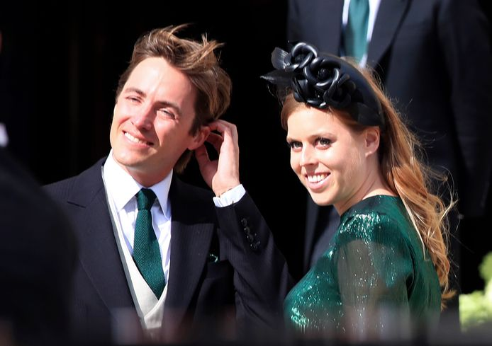La princesse Beatrice et Edoardo Mapelli Mozzi.