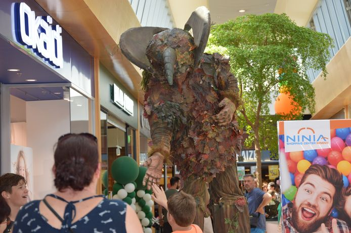 'Family First day' in het Ninia Shopping Center in Ninove.