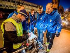Exacte lengte van marathon Tilburg opgemeten