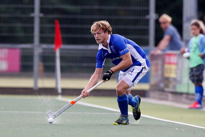 Jip Janssen (hier op archiefbeeld) scoorde vanmiddag twee keer in de gewonnen wedstrijd tegen Tilburg.