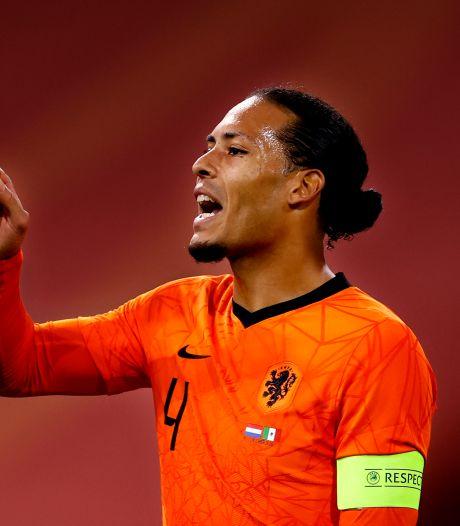 Dochter Beau steunt bondscoach in het Oranje, Virgil spreekt spelers nog een keer toe