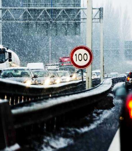 Sneeuwval kan tot hinder leiden