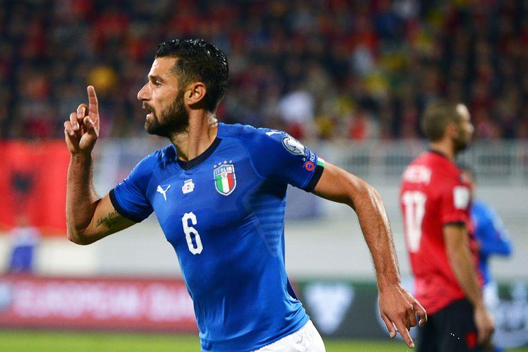 Antonio Candreva trapte Italië naar een moeizame zege