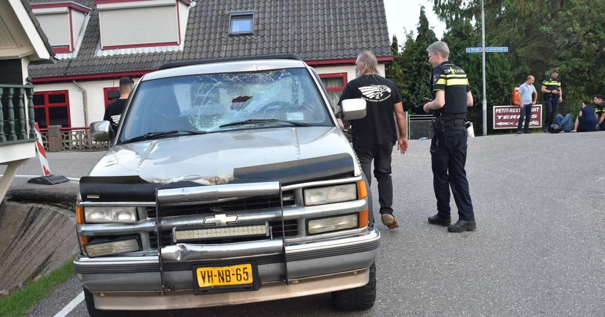 Bromfietser gewond bij ongeluk Zuilichem.