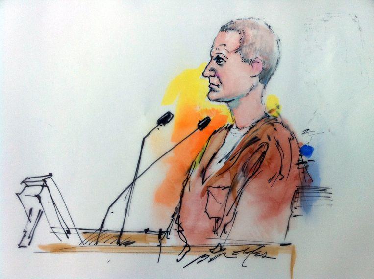 De beklaagde, Jared Lee Loughner Beeld AFP