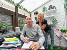 Kunstenaar Frank Roks deelt zijn gedichtjes met heel Roosendaal: 'Soms humoristisch, soms bloedserieus'