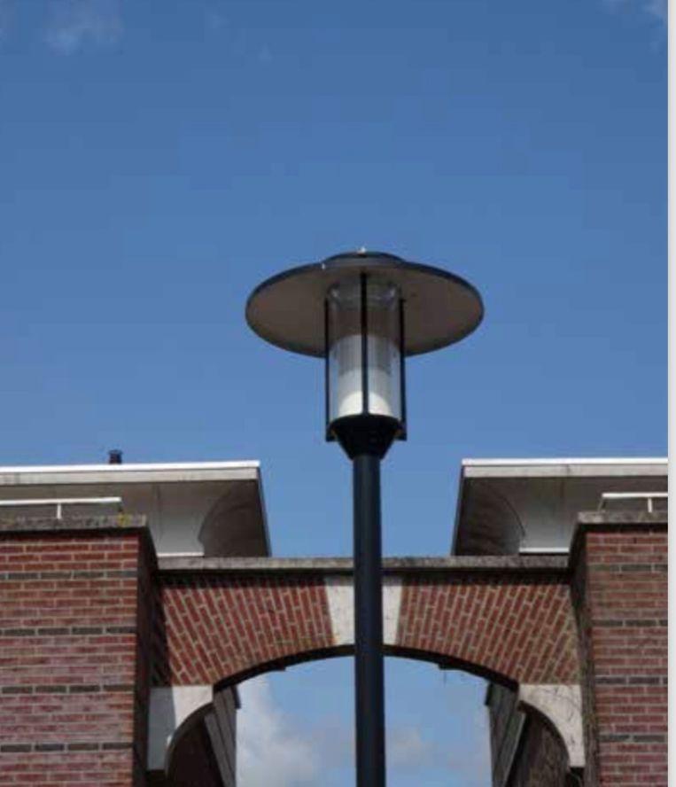 Illustratie bij 'Een ander licht op de lantaarnpaal'.  Beeld De Wijkkijker