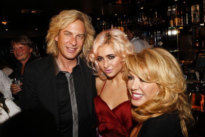 Met Christina in september 2010.