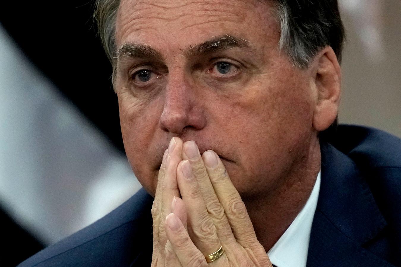 De Braziliaanse president Jair Bolsonaro