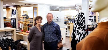 Na 170 jaar einde aan familiebedrijf Van Woerkum; Rob en Els stoppen met hun modezaak in Bergeijk