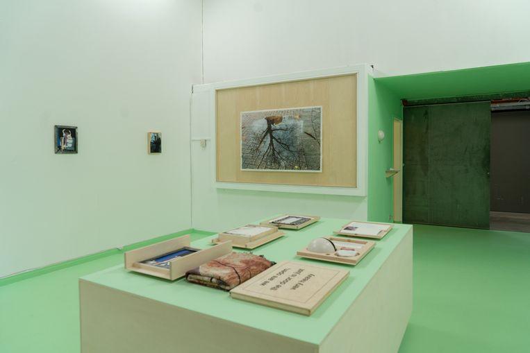 In a Box, de eerste editie ooit, bevat zeer diverse werken van kunstenaars uit de hele wereld. Beeld