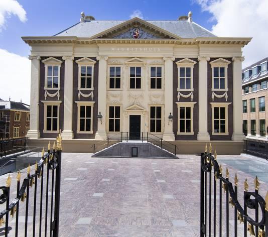 Het gerenoveerde Mauritshuis.