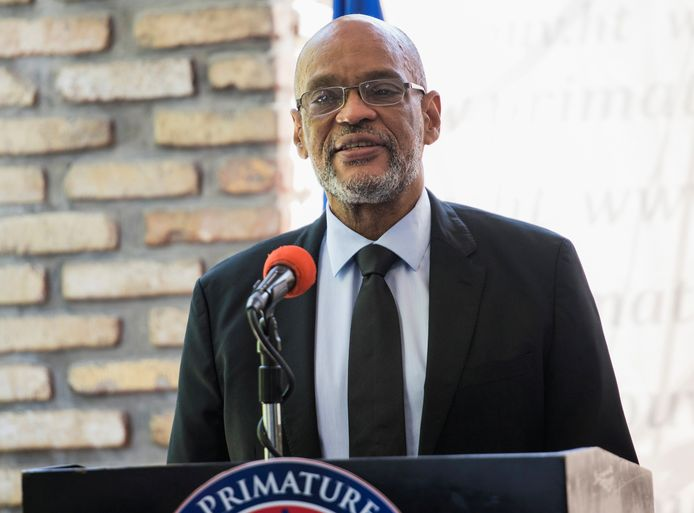 Le premier ministre haïtien, Ariel Henry.