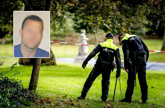 Politie doet onderzoek rondom de vijver bij het Blookerpark naar de vermiste Anne Faber. In de vijver is een fiets gevonden die volgens de politie erg lijkt op die van de Anne (inzet Michael P.)