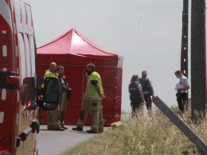 De hulpdiensten probeerden de man nog te reanimeren, maar alle hulp kwam te laat