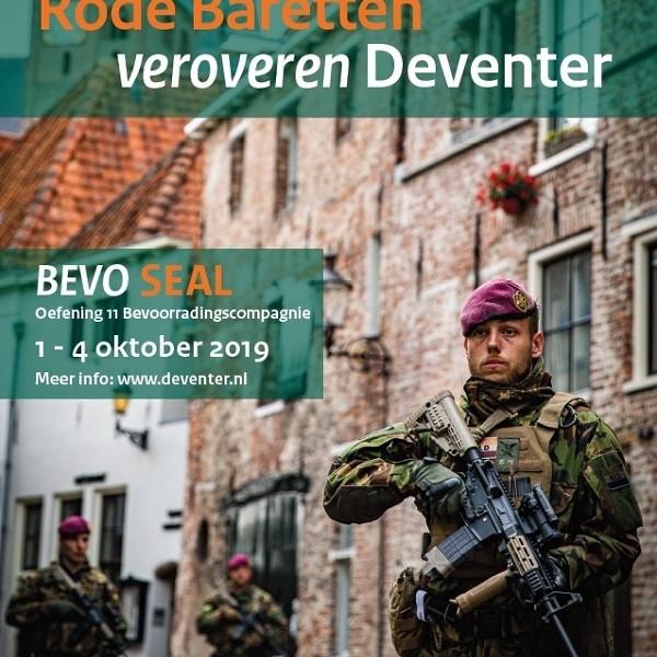 De gemeenten Deventer, Voorst, Zutphen en Lochem zijn binnenkort enkele dagen lang het decor van een grote legeroefening.