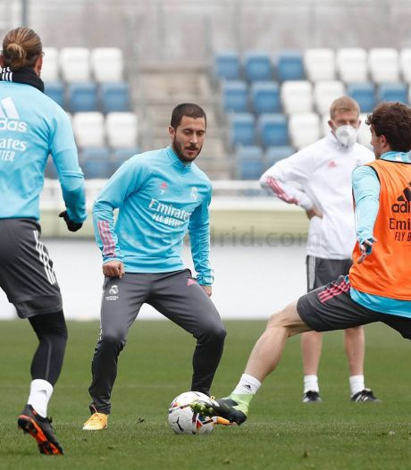Nouvelle blessure pour Eden Hazard: le Real confirme