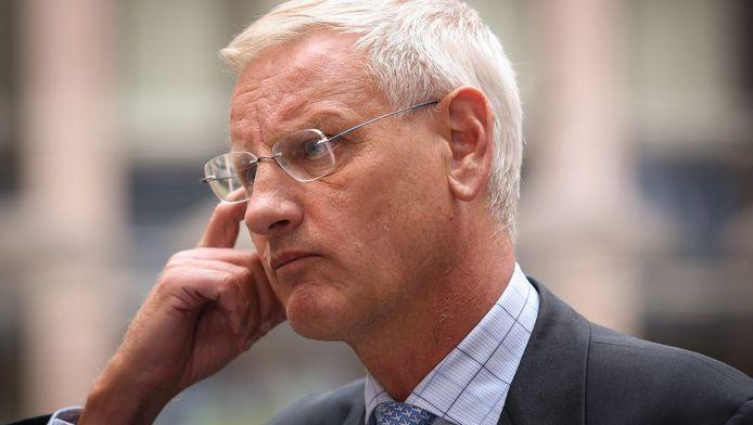 """Bildt: """"We zijn aan een ware catastrofe ontsnapt."""""""