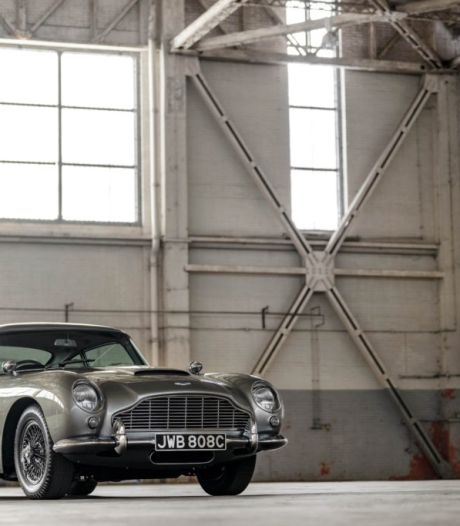 Aston Martin in nieuwe James Bond-film is een bouwpakket met BMW-motor