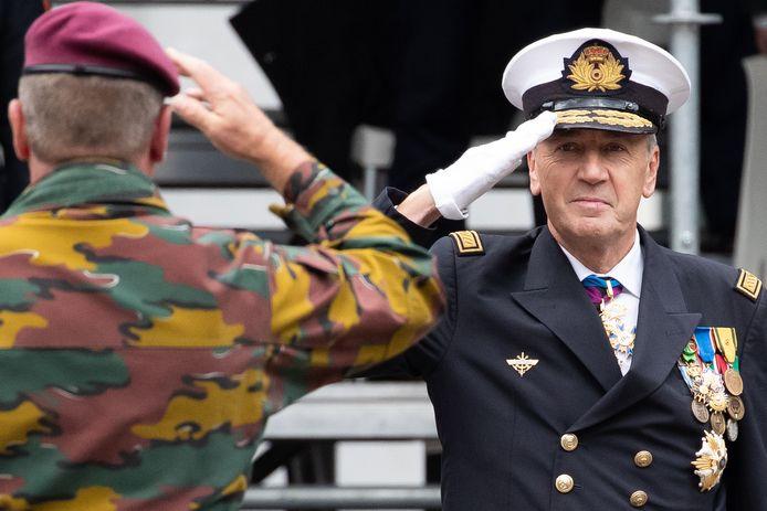 Michel Hofman, sinds vorige vrijdag de nieuwe chef van Defensie.