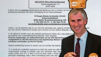 Delvoye zet burgemeester weer voor joker