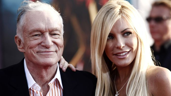 Hugh en Crystal in 2010