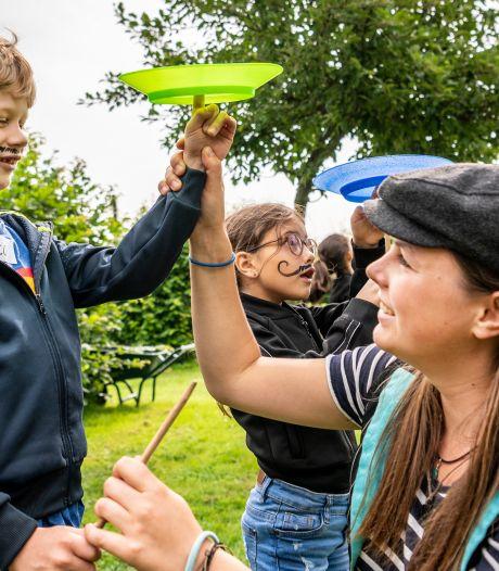 Kinderen in Oijen zijn circusartiest voor één dag bij Circus Snor