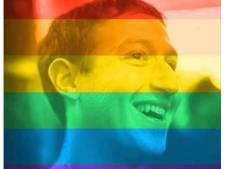 26 miljoen regenboogfoto's op Facebook