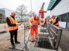 Regenwater boven bedrijventerrein Leehove gaat niet meer klakkeloos afvalzuivering in