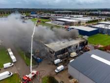 Filiaalmanager treurt na verwoestende brand in bedrijf in Dronten: 'Heel triest, geen woorden voor'