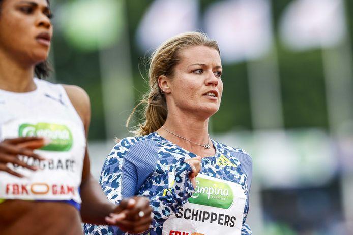 Dafne Schippers komt deze vrijdag in actie op de 100 meter.