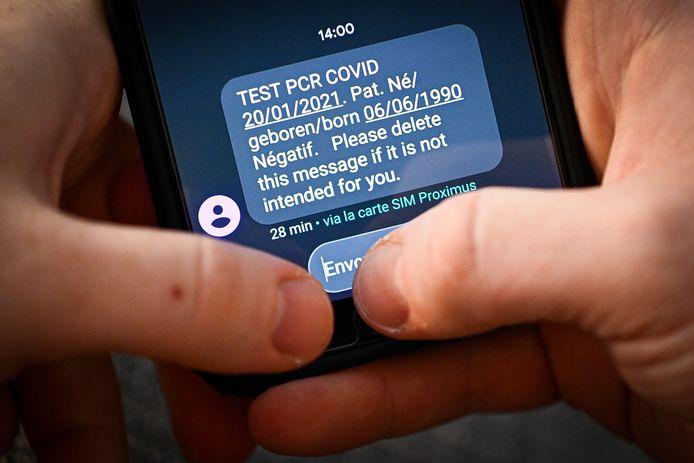 Negatief testresultaat