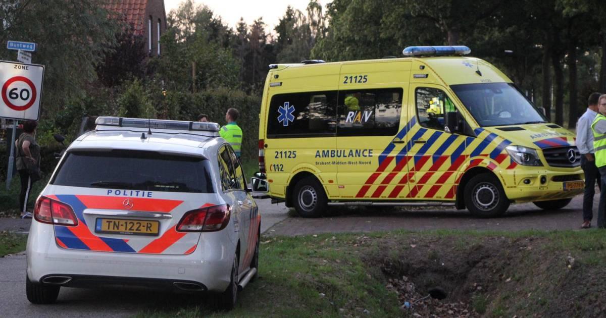 Bestuurder lichtgewond bij botsing in Schijndel.