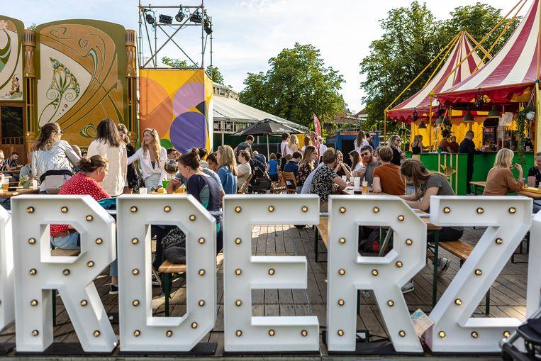 Festival Noorderzon in Groningen. Beeld Xanne Wijkamp