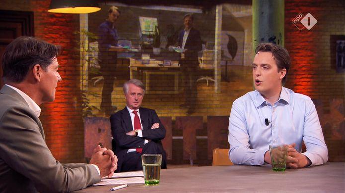 Sywert van Lienden noemde in het programma Buitenhof zijn miljoenenwinst 'onuitlegbaar'.