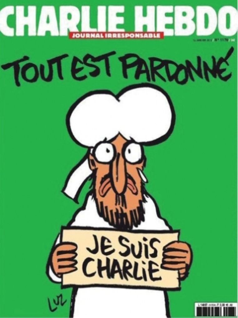 'De vrijheid van meningsuiting is een mooi principe, maar als het erop aankomt, doen de meesten het in hun broek'   Beeld