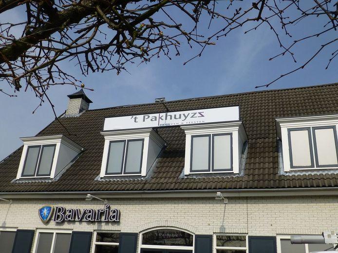 Restaurant 't Pakhuyzz in Schijndel is van binnen verbouwd.