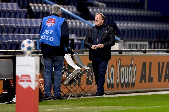 Mike Snoei is verheugd met het vertrouwen dat hij krijgt bij De Graafschap en blijft nog een seizoen.