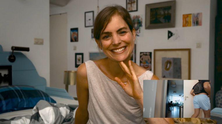 Hannah Hoekstra neemt de rol van Lucky voor haar rekening. Beeld