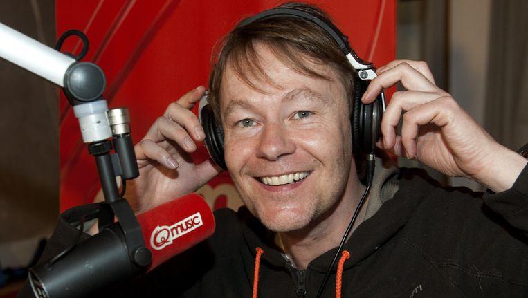 Gijs stapte in juli over van het commerciële Q-Music naar het publieke Radio 2 Beeld anp