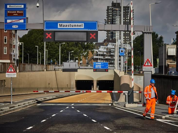 Maastunnel al vijf keer dicht geweest vanwege te hoge vrachtwagens