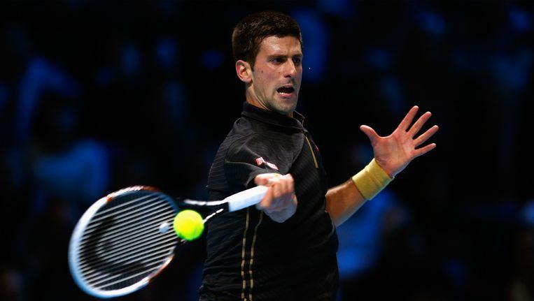 Djokovic won de Masters nadat Federer forfait gaf in de finale. Beeld GETTY