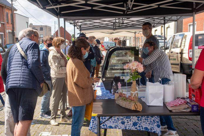 De nieuwe korte keten markt staat voortaan elke 4de vrijdag van de maand in Wetteren-Ten-Ede