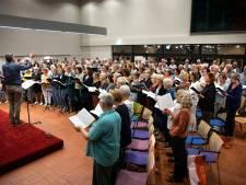Drie koren zingen samen een mis voor de vrede in Eindhoven