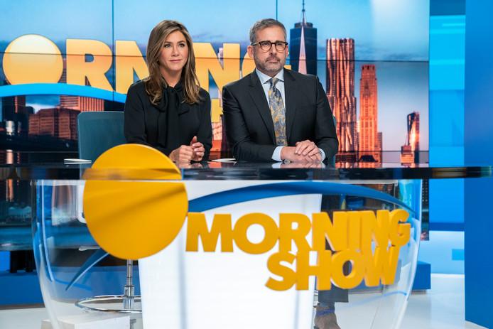 Le Morning Show est l'un des rares programmes disponibles sur Apple TV+.