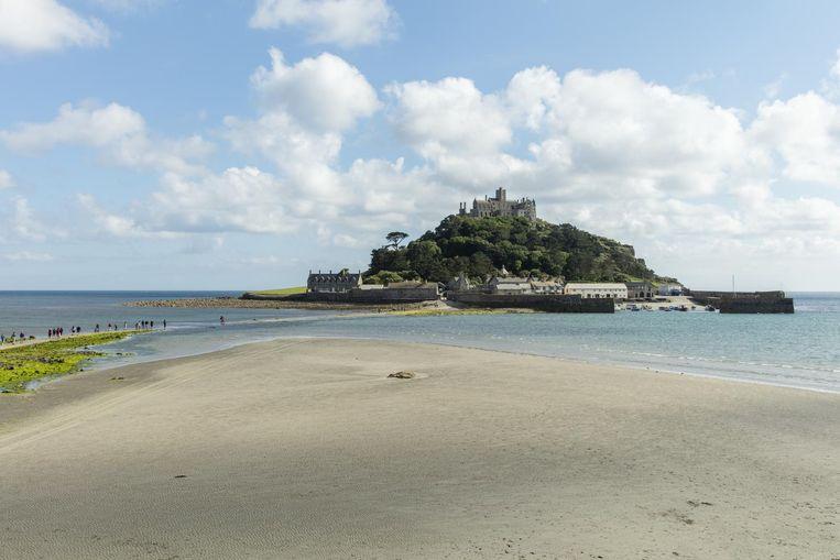 St Michael's Mount, het broertje van de Mont Saint-Michel. Beeld Matthew Jessop / Visit Cornwall