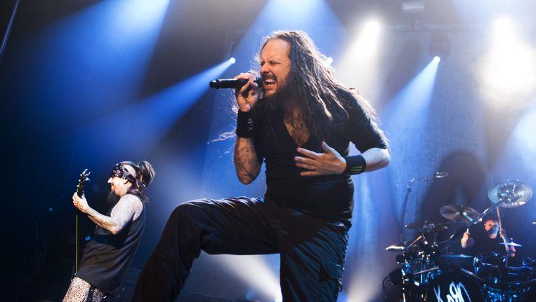 Korn-frontman Jonathan Davis. Beeld alex vanhee
